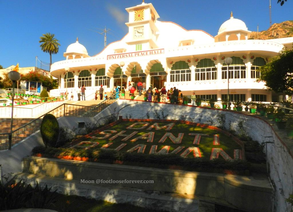 Universal Peace Hall, Om Shanti Bhawan, Mount Abu