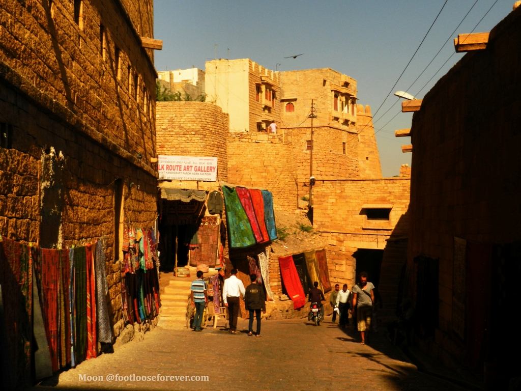 craft shop, Jaisalmer fort, jaisalmer, rajasthan
