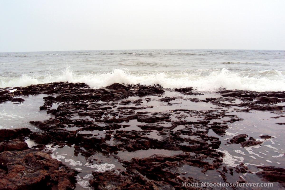 waves, ocean waves, vizag, Rishikonda beach