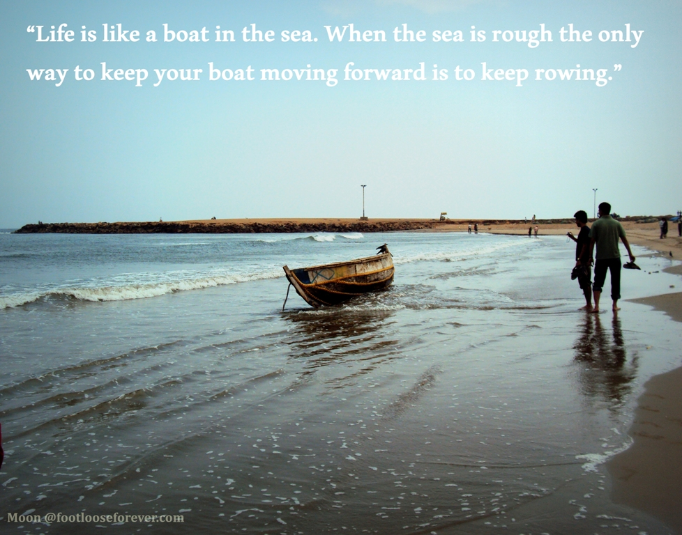 Quote About The Sea: Footloose Forever