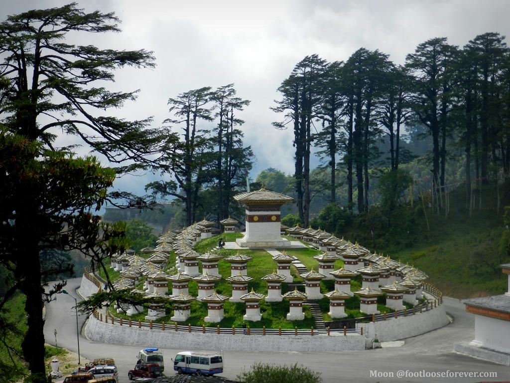108 chortens dochula bhutan