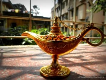 Aladin's magic lamp