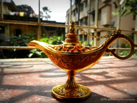 Aladin's magic lamp