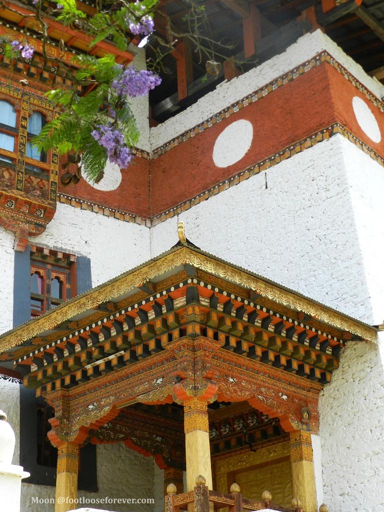 punakha, monastery, bhutan, Tibetan architecture