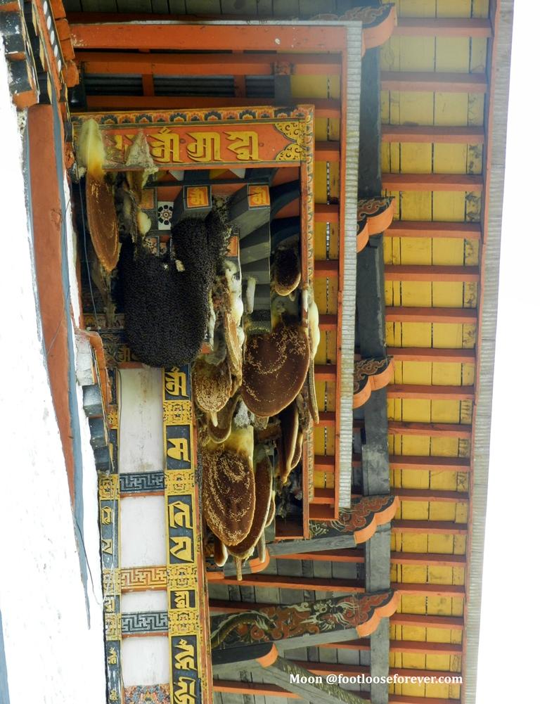 beehive, punakha, monastery, bhutan