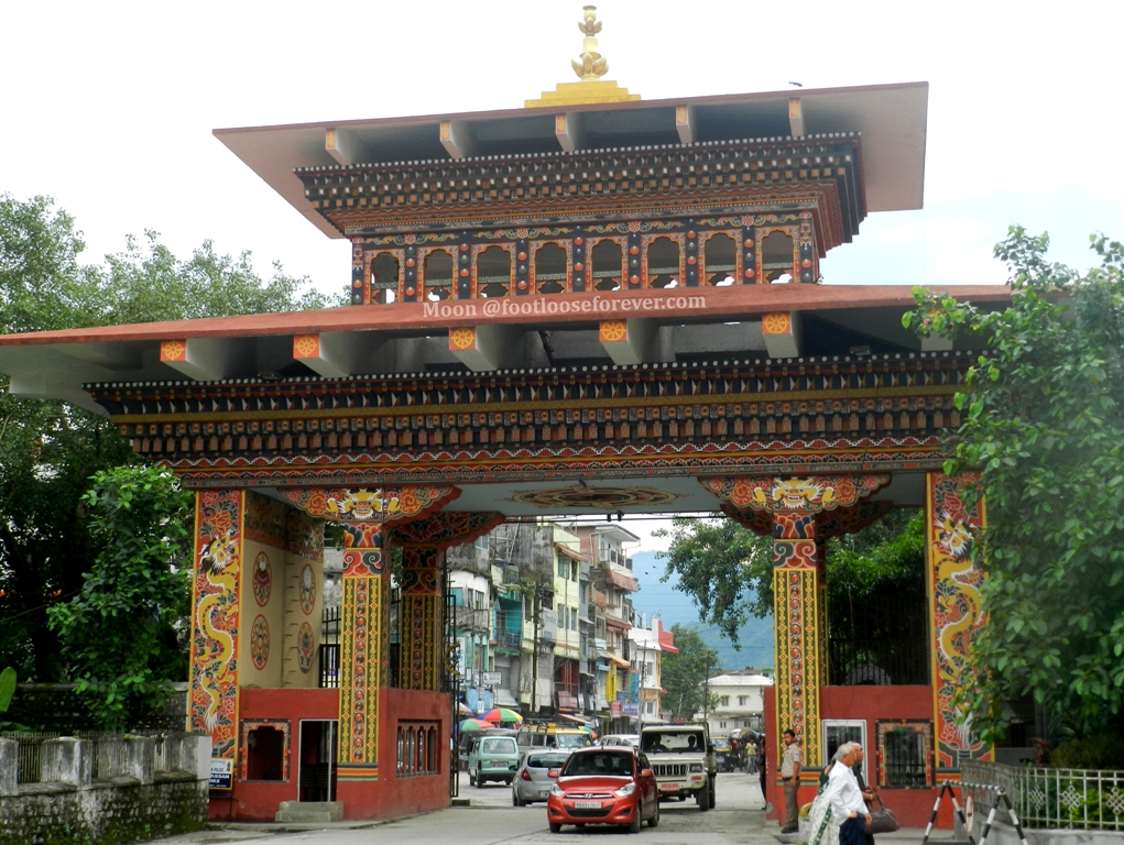 bhutan gate, phuentsholing