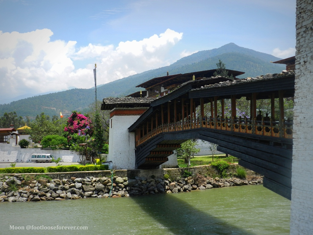 punakha, pho chhu,punakha monastery, bhutan