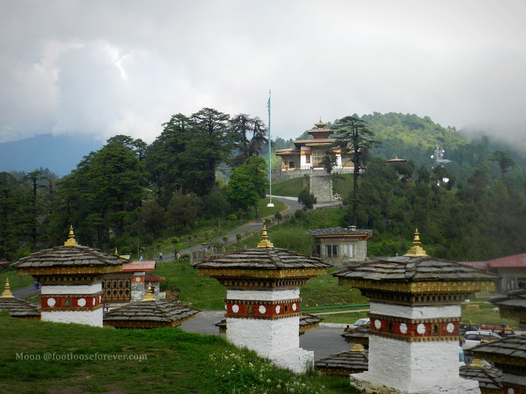 Dochula pass, bhutan, bhutan tour, sightseeing