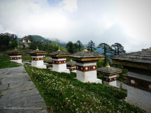 dochula pass, bhutan, mountain views