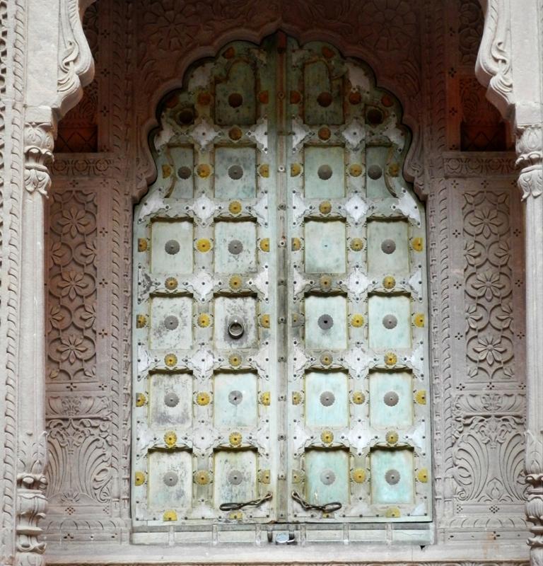 door, Mehrangarh Fort, Jodhpur, Rajasthan,