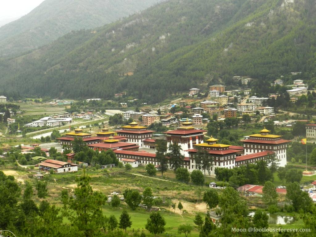 kings's palace, bhutan, thimphu, tashiccho dzong