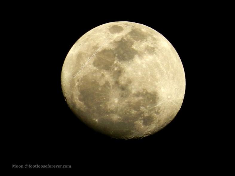 moon, full moon, close up