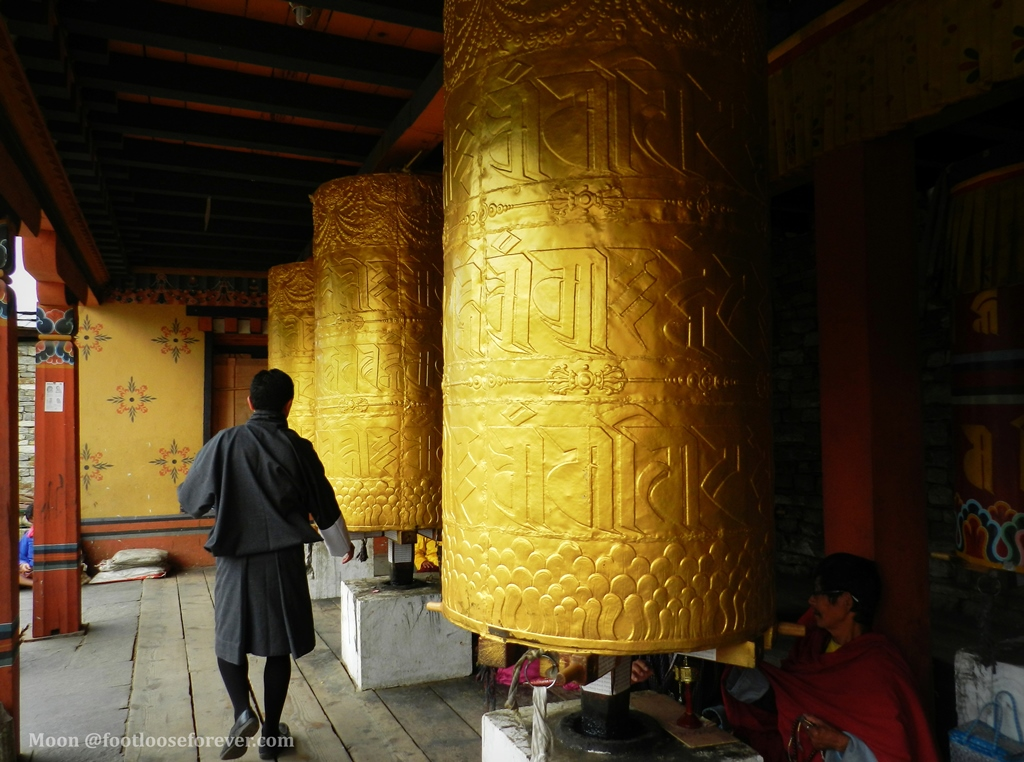 prayer wheels, National memorial, chorten, Thimphu, Bhutan