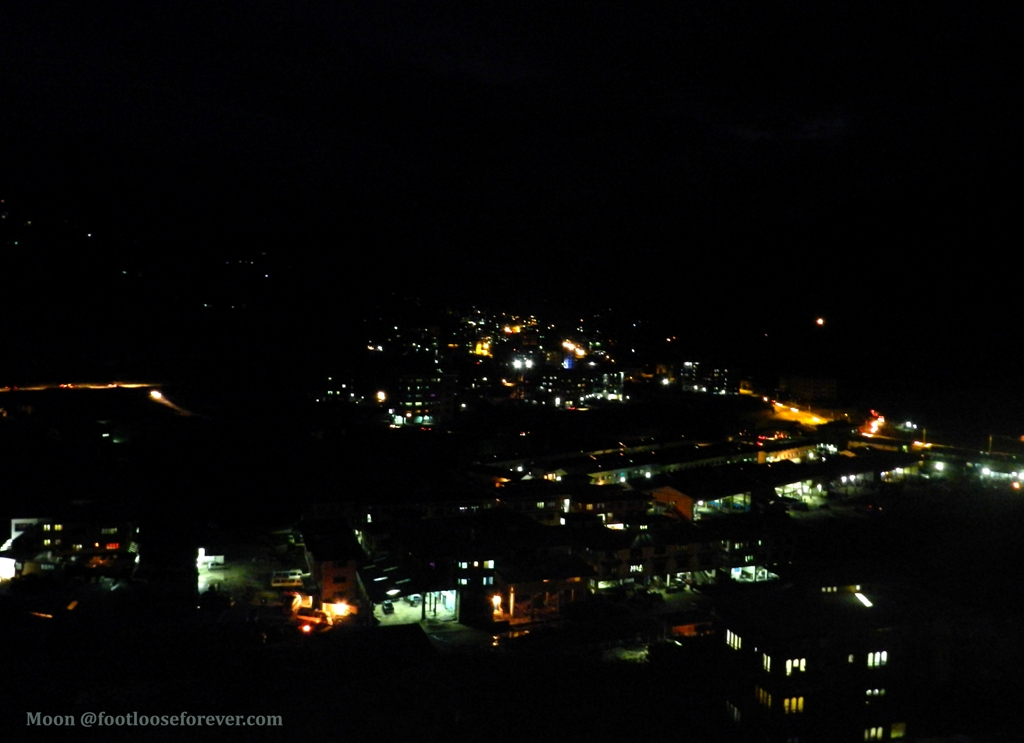 Thimphu at night, Bhutan