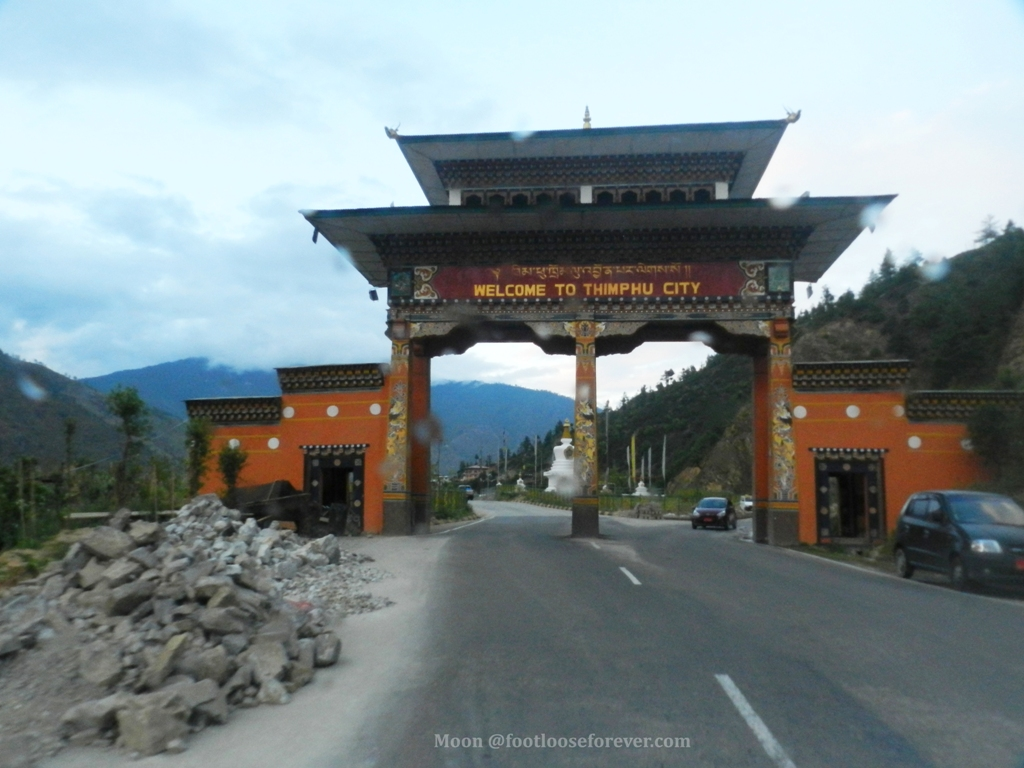Thimphu gate, Thimphu, Bhutan