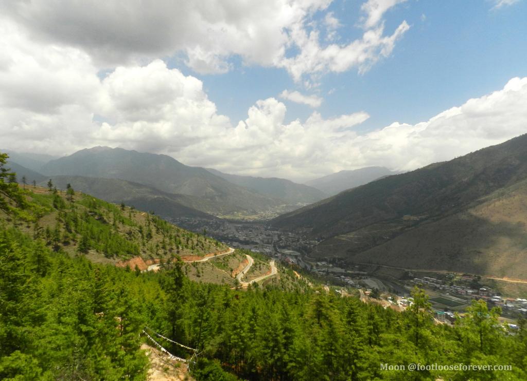 Thimphu, Landscapes, scenic view, Bhutan