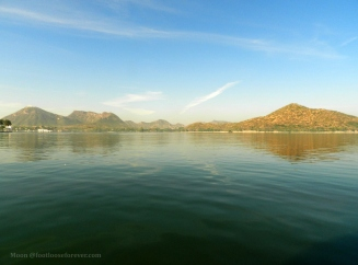 fateh sagar lake, udaipur, lake, sky, blue