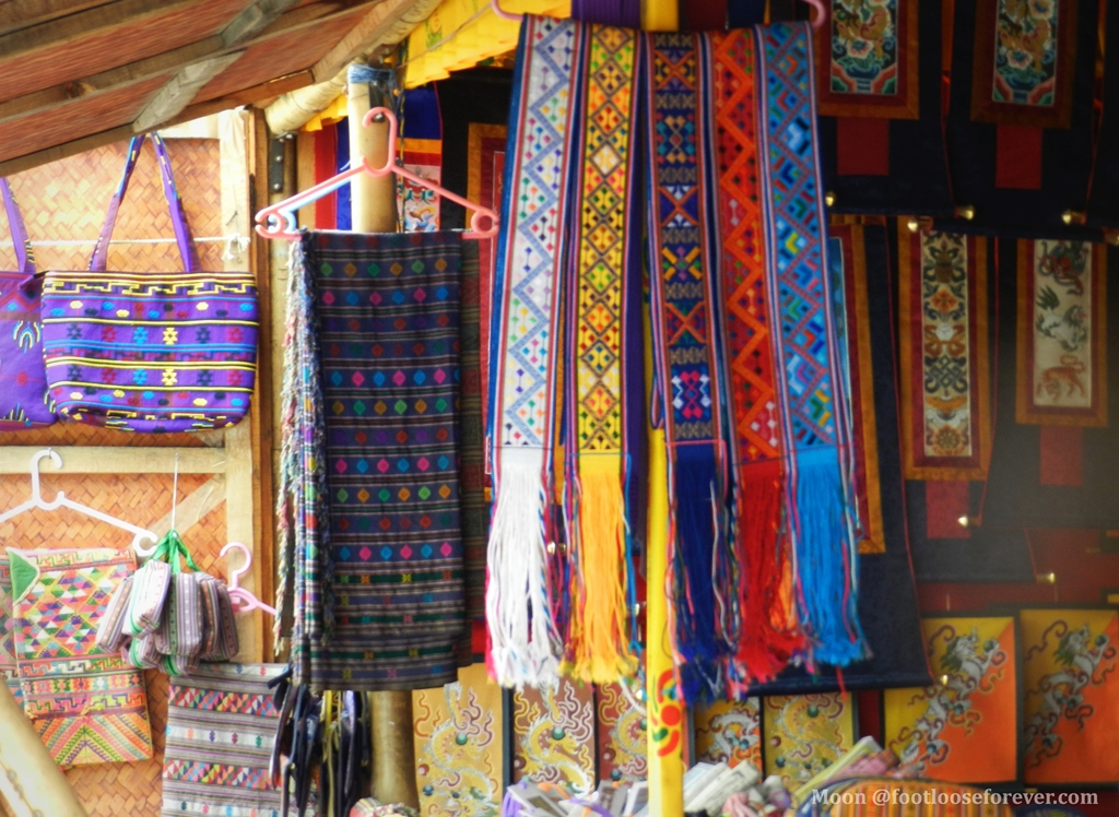textile, bhutan, thimphu, handicraft market