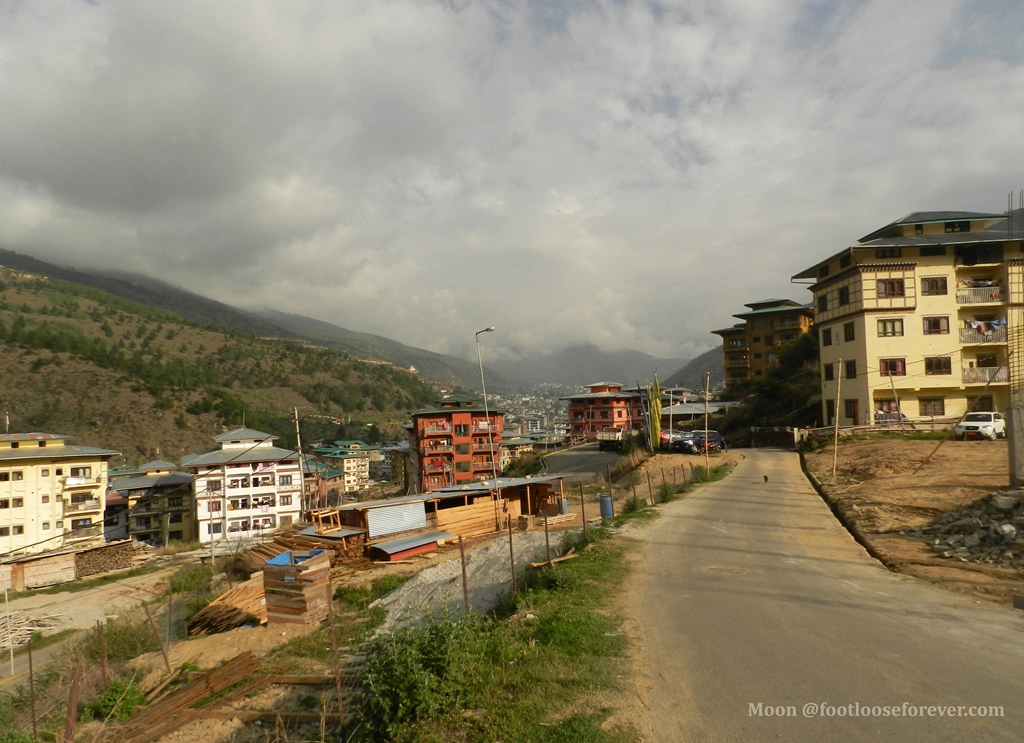 neighborhoods, thimphu, bhutan