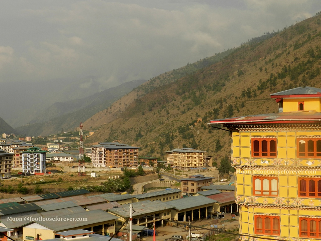 buildings in thimphu, bhutan