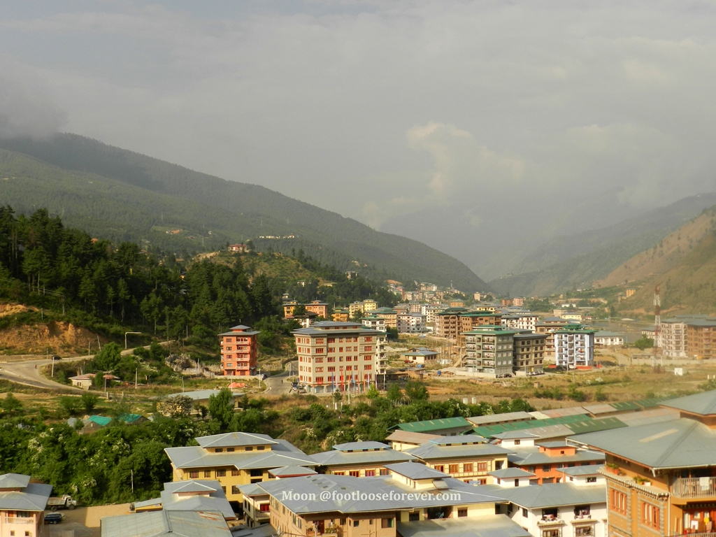 houses in thimphu, bhutan