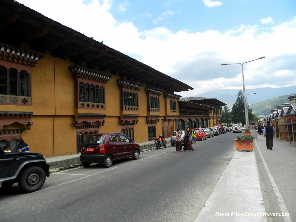 thimphu market, bhutan