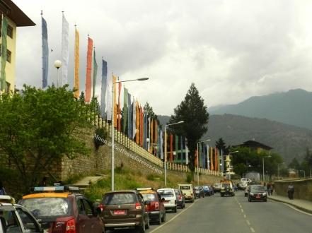 thimphu roads, bhutan