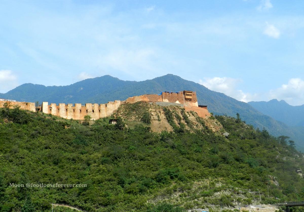 wangdue monastery, wangdi, punakha, bhutan
