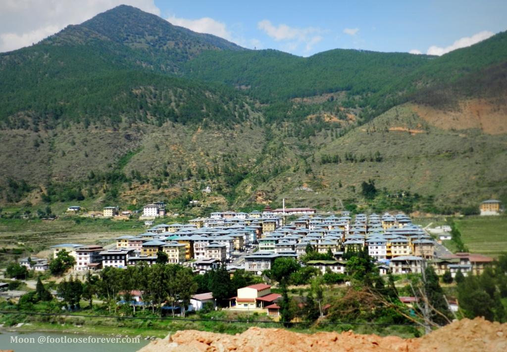 wangdue phodrang, wangdue, phodrang town, bhutan