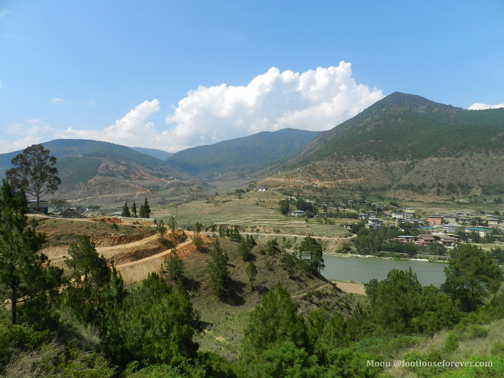 wangdue, lobesa valley, wangdue phodrang, bhutan