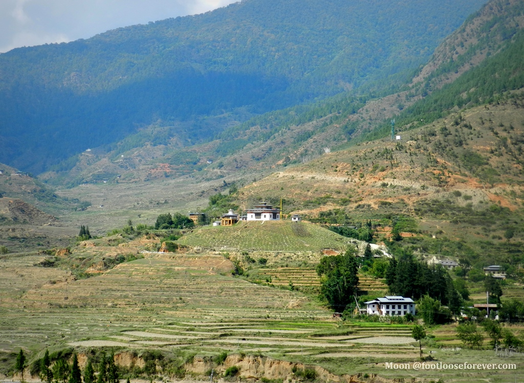 wangdue, lobesa valley