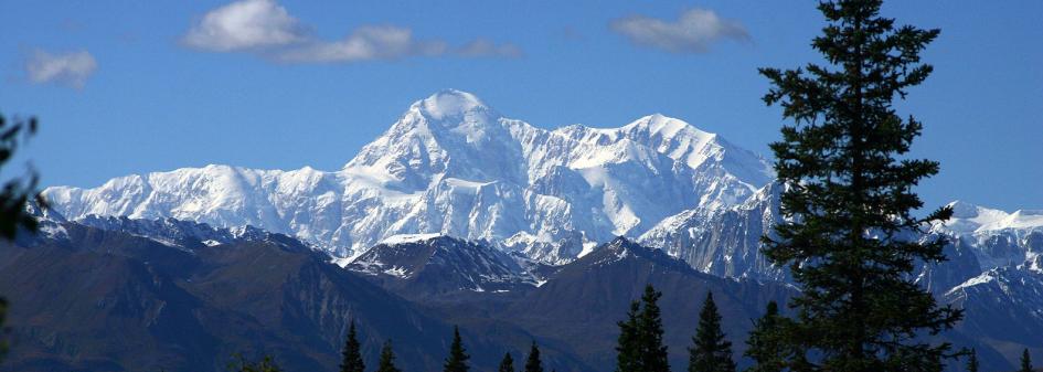 Denali, Alaska, Mountain peaks