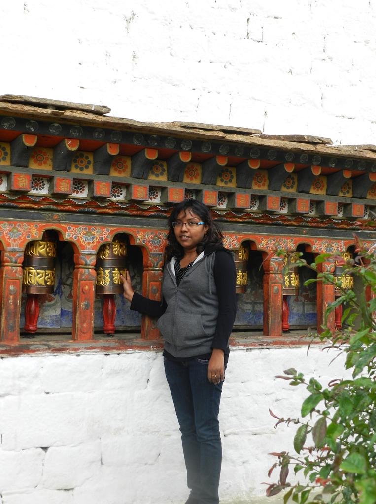 at kichu monastery, paro, bhutan