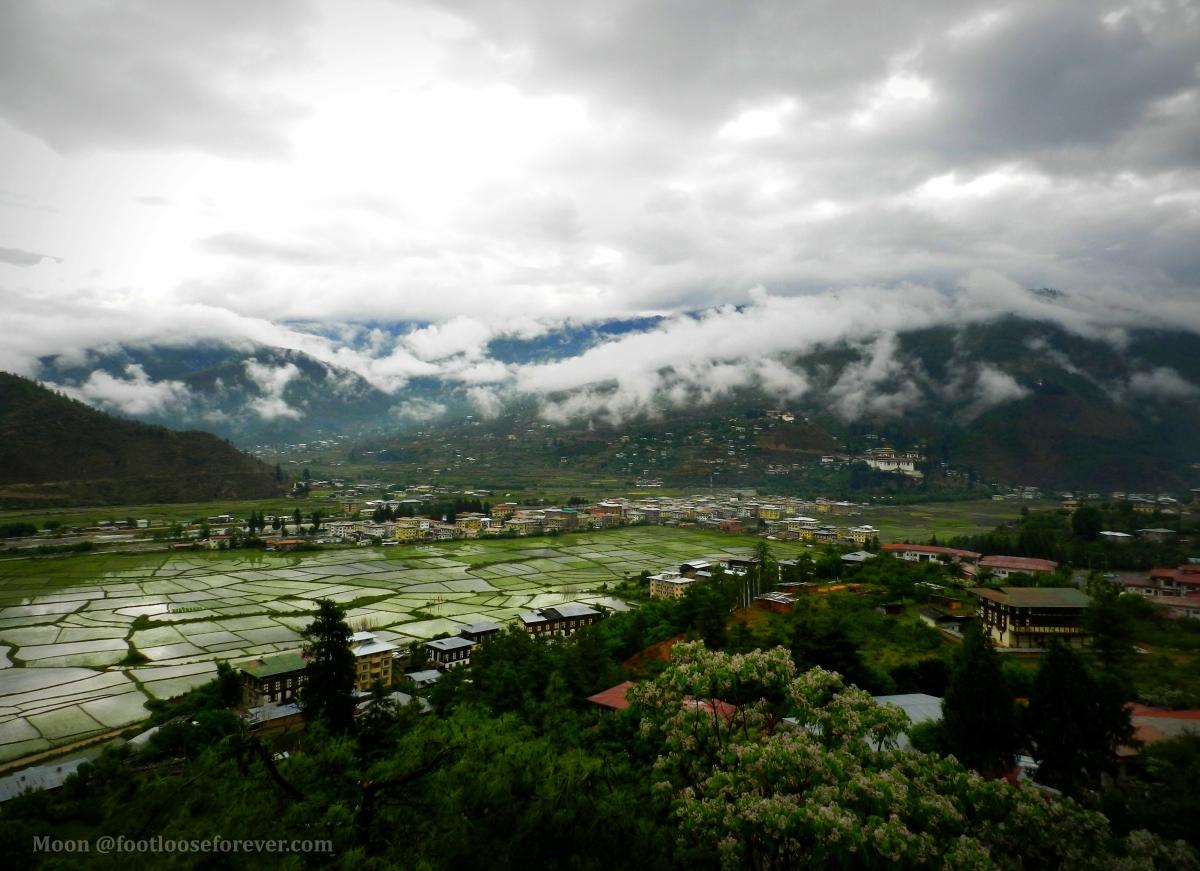 paro, bhutan, paro valley