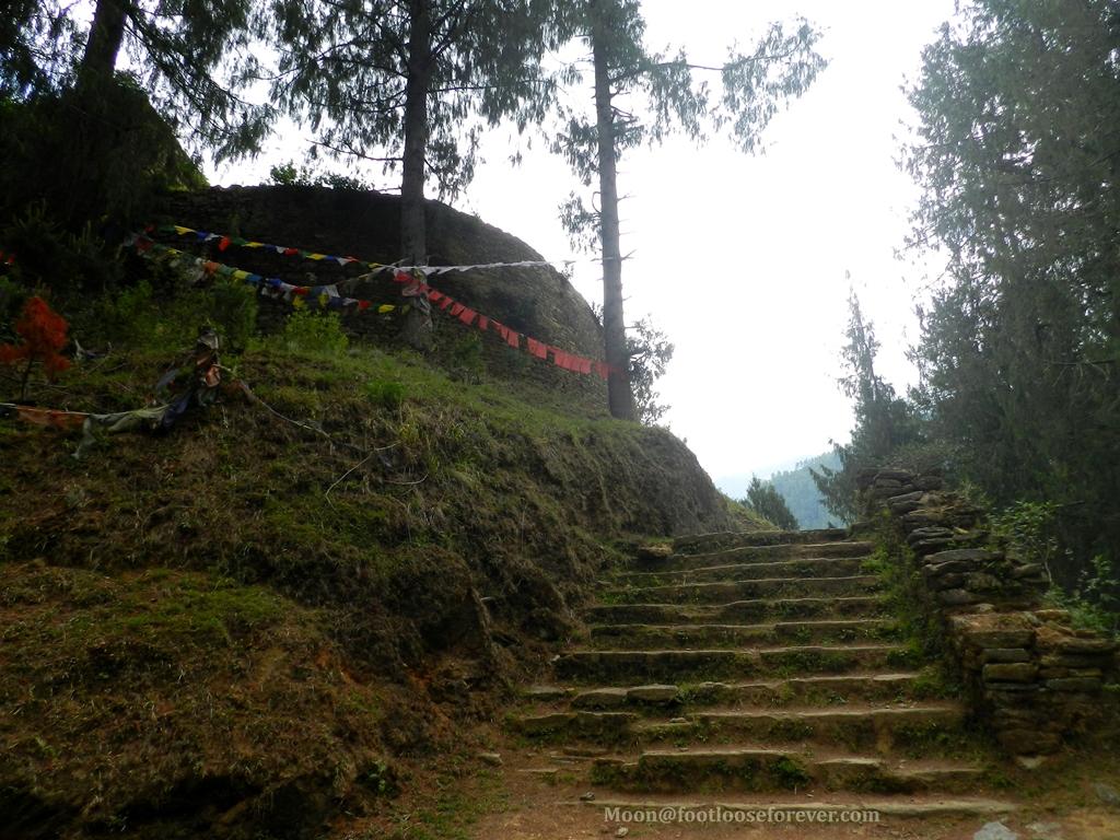 staris, drukgyel dzong, paro, bhutan