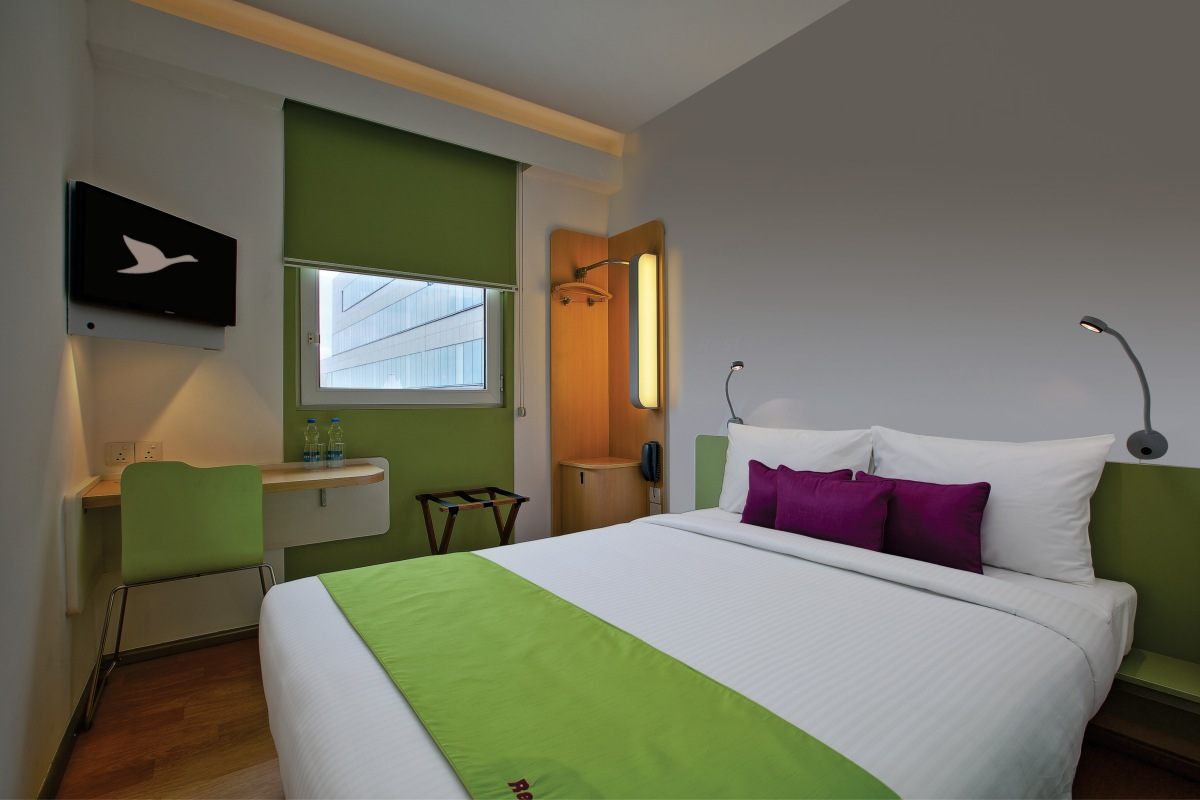 Hotel Formule1 guest rooms