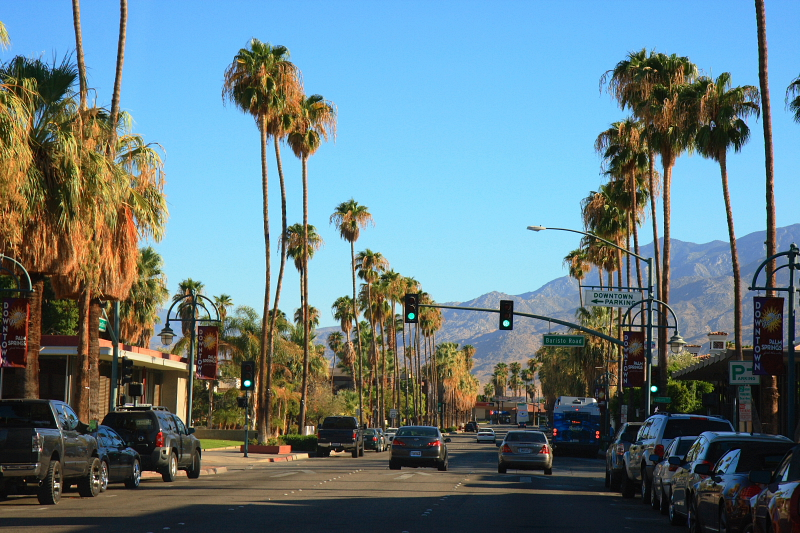 Palm Springs, California, Palm Springs hotels