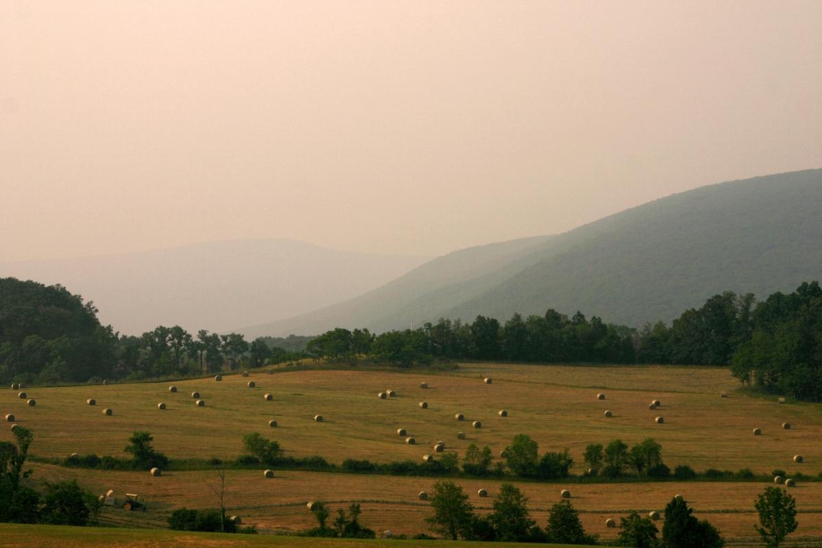 rolling hills of west virginia, morgantown, wv