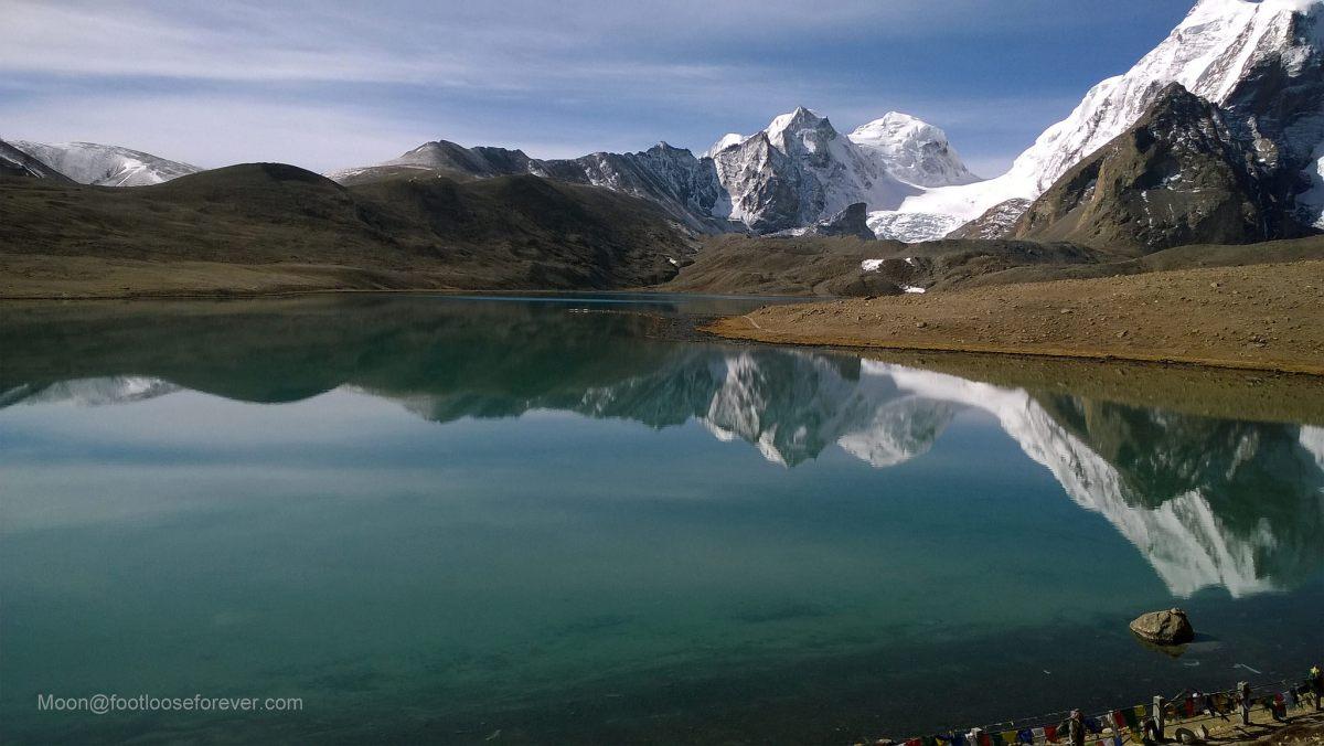 lake gurudongmar, sikkim, india