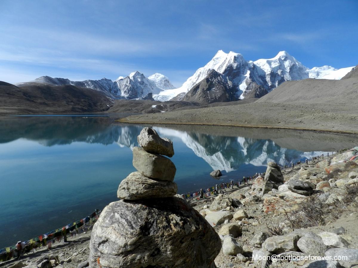 gurudongmar, lake, north sikkim