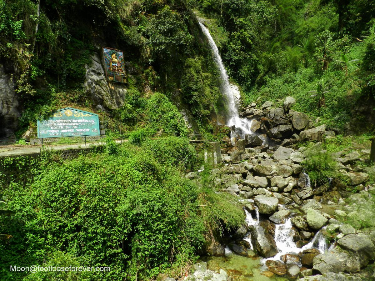 seven sisters waterfalls, lachung, sikkim