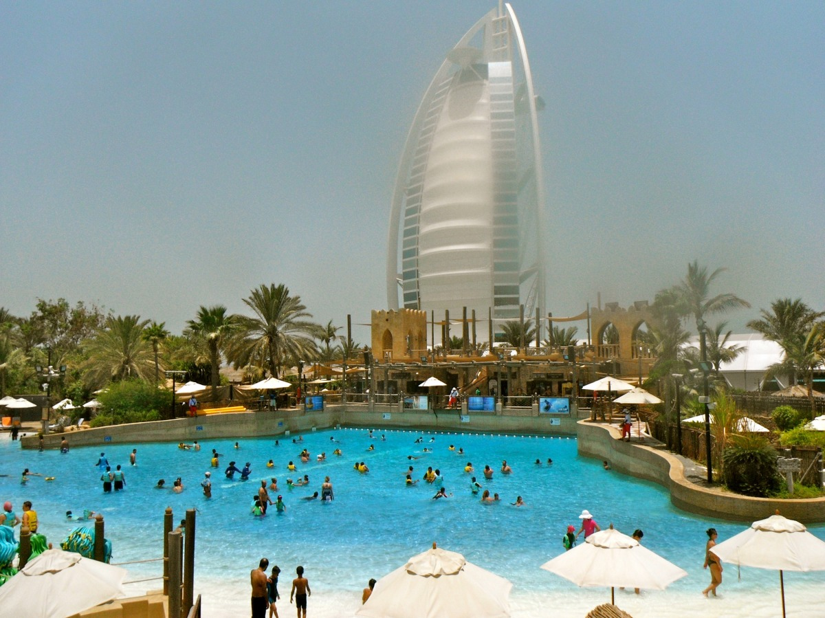 wild wadi water park, dubai attractions