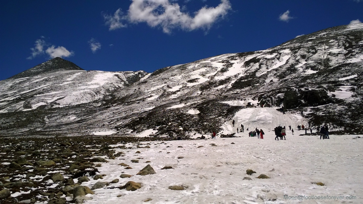 zero point, sikkim, himalayas, snow