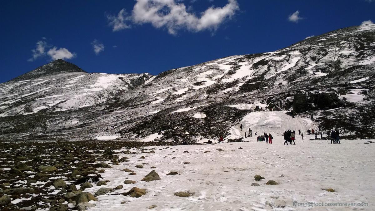 zero point, sikkim, himalayas, snow
