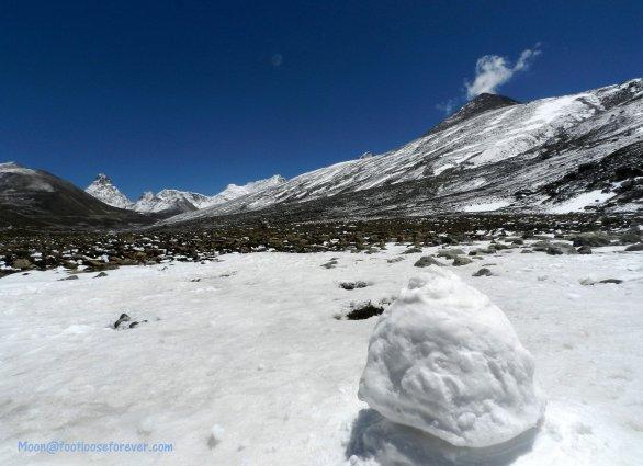 zero point, sikkim, himalayas