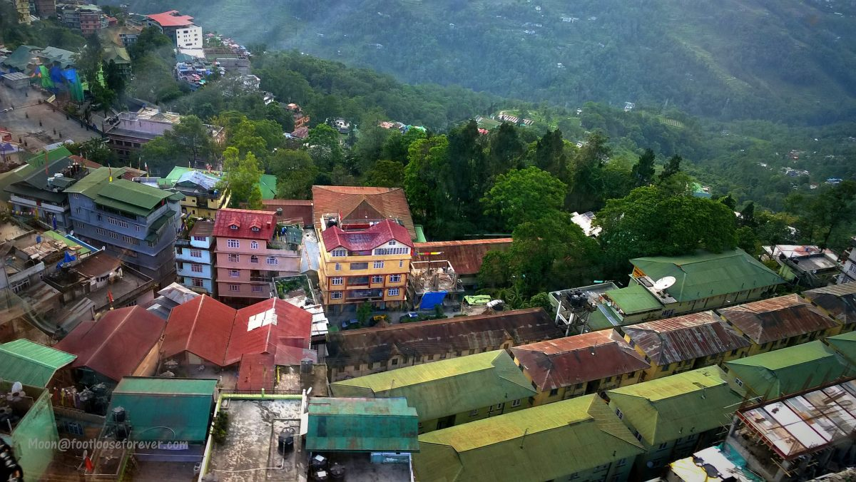 gangtok, rooftop, ropeway ride, sikkim, things to do gangtok