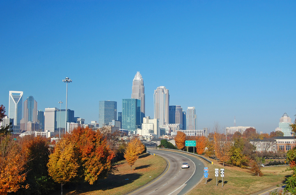 Charlotte Skyline by James Willamor, Flickr