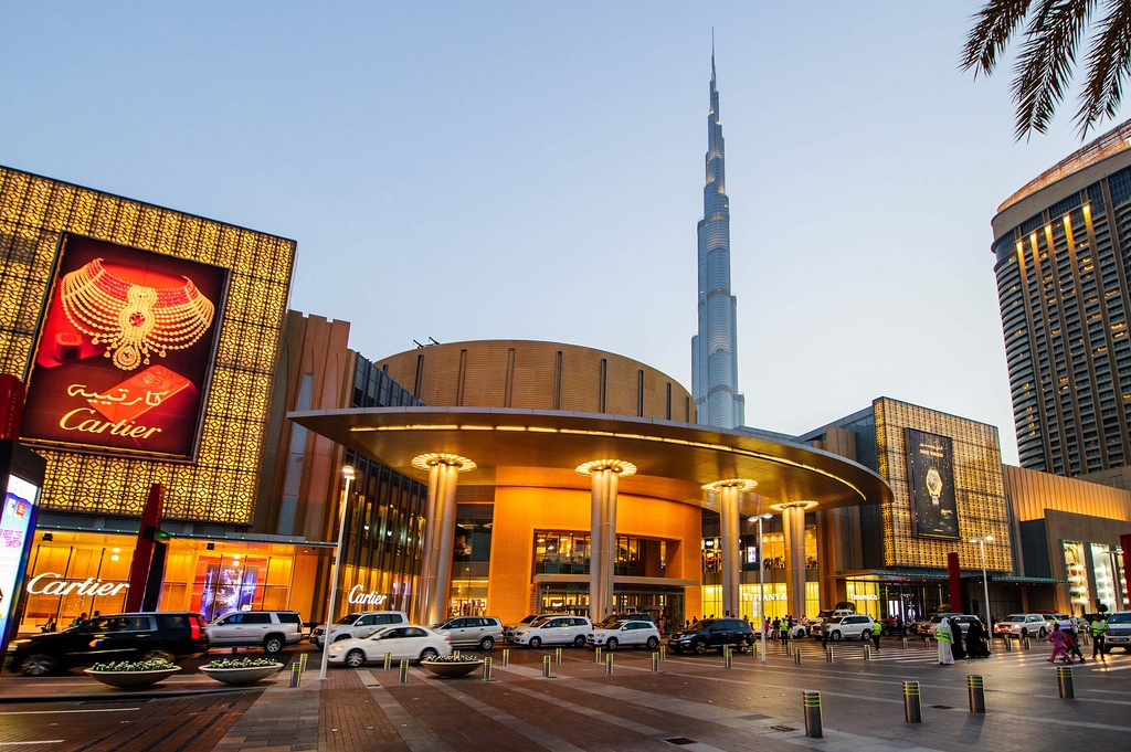 Dubai mall, shopping in Dubai