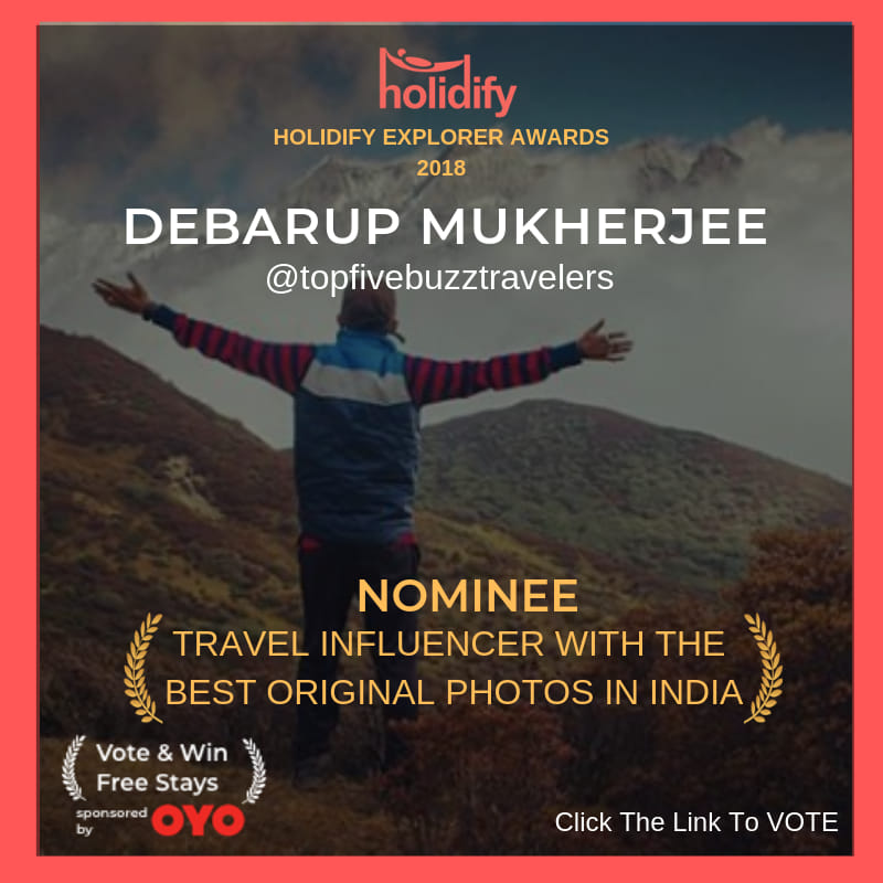 Debarup Mukherjee, travel blogger, best travel photo